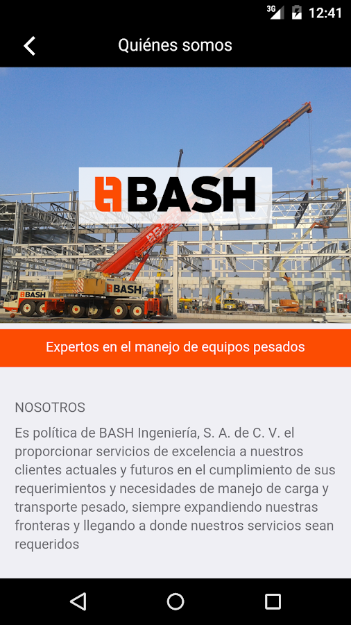 Gruas BASH- screenshot