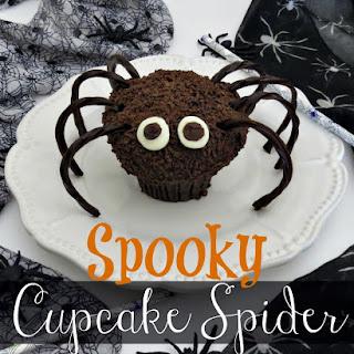 Halloween Cupcake Spider Recipe