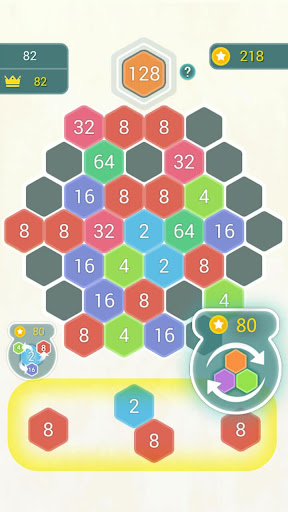 HexPop:Make number to 2048,Free Merge Puzzleu00a0Games apktram screenshots 5