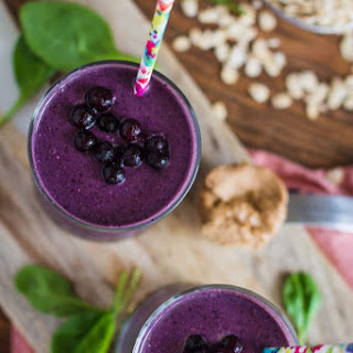 Meal Replacement Blueberry Green Smoothie
