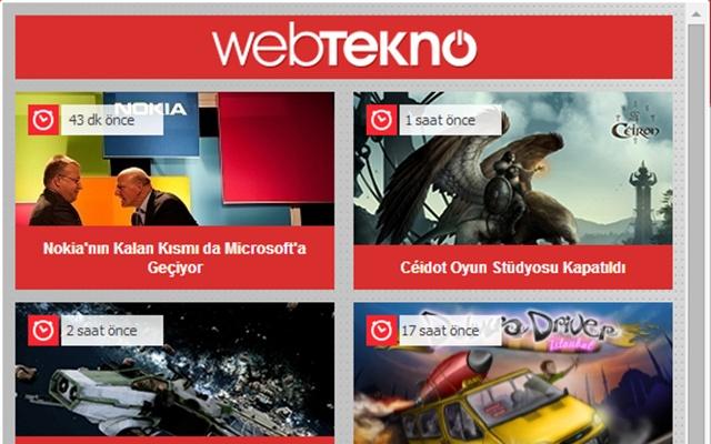 Webtekno - Güncel Teknoloji Habeleri