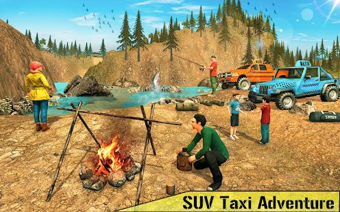SUV出租車黃色出租車:越野紐約出租車駕駛遊戲