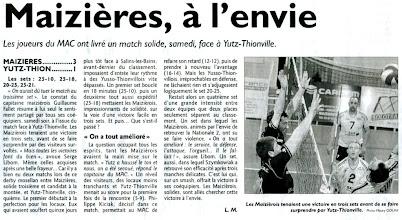 Photo: 10-03-2012 Maizières - ASVB 3-1