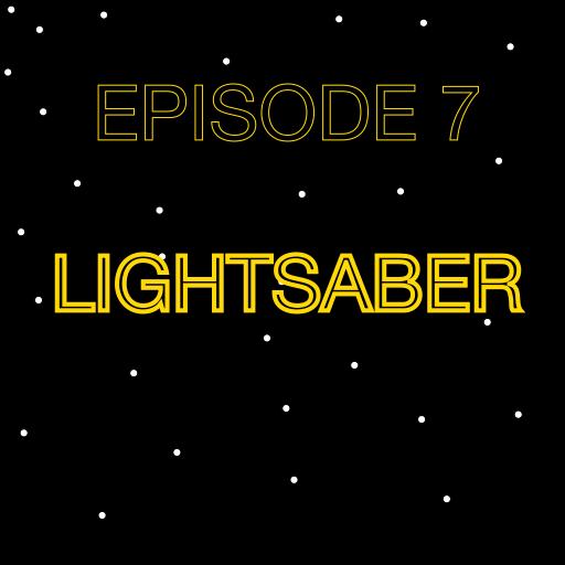 Episode 7 Lightsaber