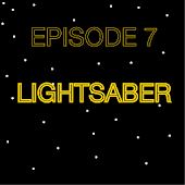 Episode 7 Lightsaber