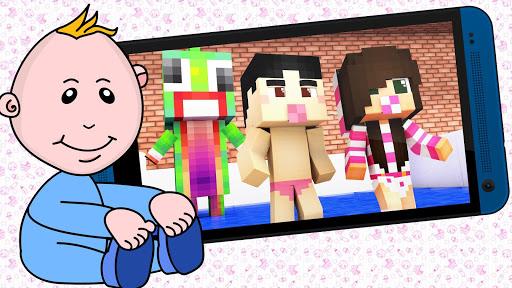 Minecraft PE的婴儿皮肤