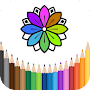 coloring book for adults and children APK icon
