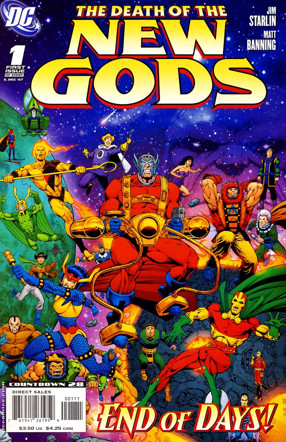 The Death of the New Gods (2007) - complete