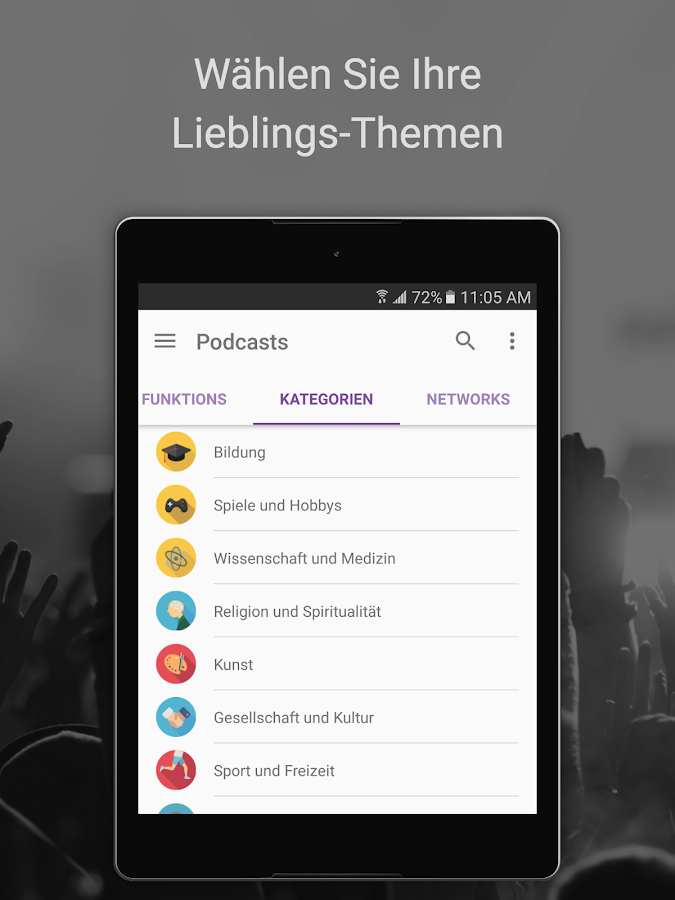 podcast radio musik castbox android apps auf google play. Black Bedroom Furniture Sets. Home Design Ideas