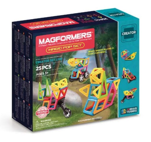 Contenido de Magformers® Magic Pop