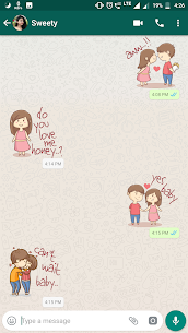 Couple Sticker App For WhatsApp-WAStickerApps 4