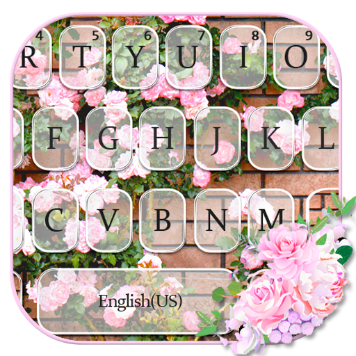 Natural Wall Floral Keyboard Theme Icon