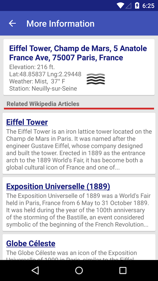 My Elevation Android Apps On Google Play - What's the elevation here