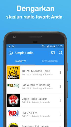 Simple Radio - Stasiun Radio FM AM  screenshots 4
