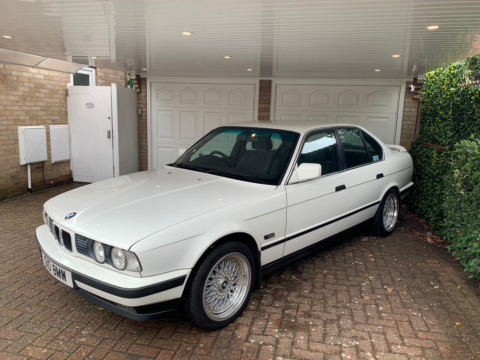 BMW E34 525i Hire Birmingham