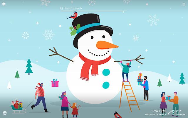 Winter Wonderland HD Wallpapers New Tab Theme