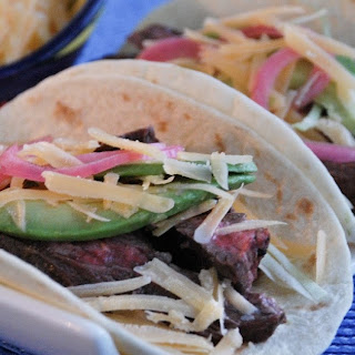 Beemster Steak Tacos.