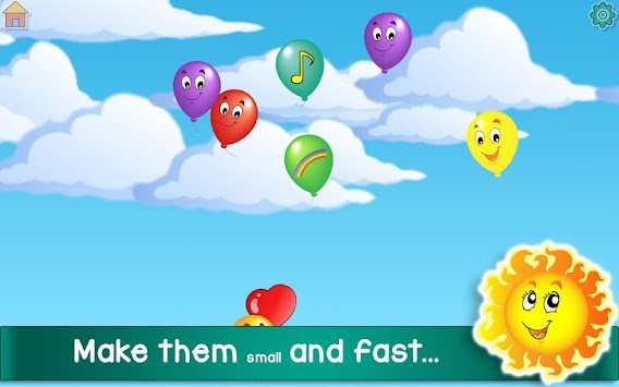 Kids Balloon Pop Game Free apk screenshot