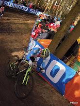 Photo: U23 . Na tomhle místě si Sven Nijs v posledním kole musel vycvaknout a štyby mu nastoupil