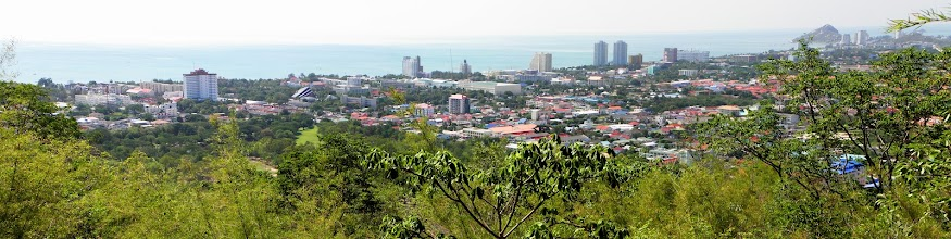 Photo: Panorama of Hua Hin