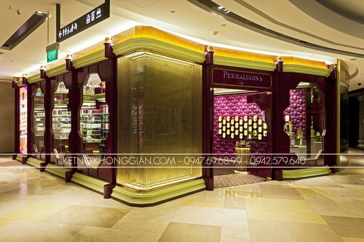 thiết kế cửa hàng nước hoa penhaligons 1