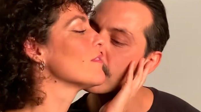 Rocío Madrid y Víctor Massán