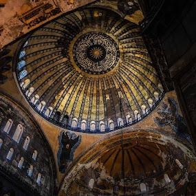 Inside Hagia by Said Rizky - Travel Locations Landmarks