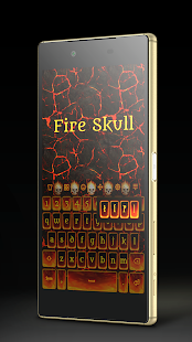 Fire Skull Keyboard- screenshot thumbnail