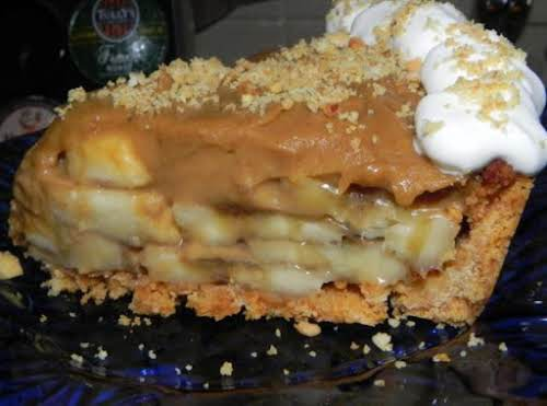 "Bananas Foster Pie ""Yummo, my teeth are screaming to bite into that right..."