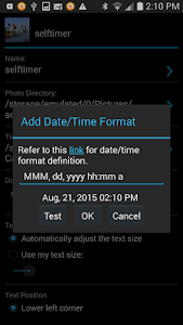 Camera Timestamp Add-on v3.10