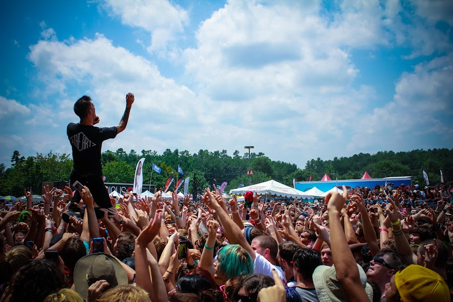 Warped Tour by Mitch Lassiter - People Musicians & Entertainers ( concert, wcar, hardcore, we came as romans, rock, warped tour )