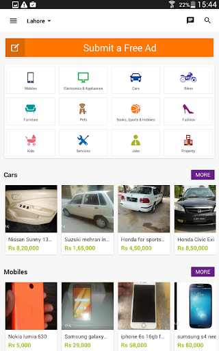 Download OLX Pakistan for PC