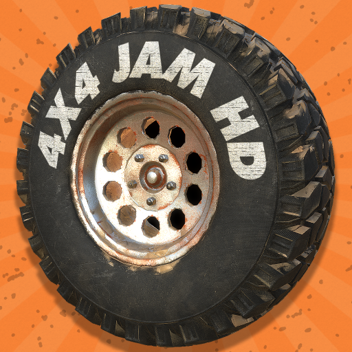 赛车游戏の4x4 JAM HD LOGO-記事Game