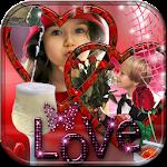 Love Dual Photo Frames
