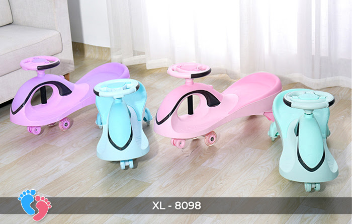 Xe lắc tay trẻ em Broller XL8098 1