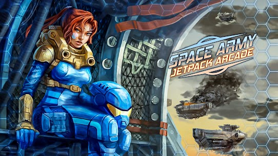 Space Army – Jetpack Arcade Mod Apk 1.0 (Unlimited Currency) 1