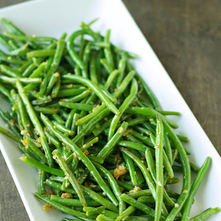 Crispy Garlic Onion Green Beans.