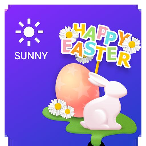 Easter Weather Widget