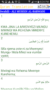 Lastest Swahili Quran APK