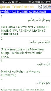 Lastest Swahili Quran APK
