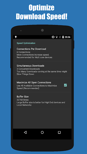 Turbo Download Manager (and Browser) 5.26 screenshots 6