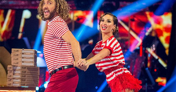 Seann Walsh and Katya Jones back on Strictly Come Dancing
