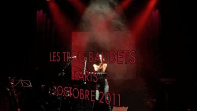 """Photo: BALLADYNA: """"SABBATH (MAIS LES INNOCENTS VONT SOUFFRIR AUSSI)"""" & """"RESPIRE...!"""" (Crédit photo: ZoroAstre. """"LE LANGAGE DES VISCÈRES"""", """"Les Trois Baudets"""" - Paris 2011)"""