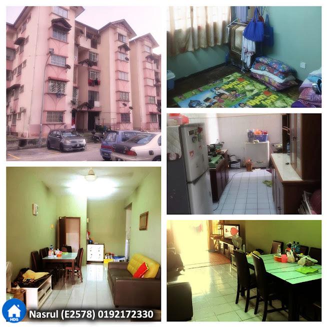 Apartment di Pangsapuri Jasmin Seksyen U5 Subang Bestari