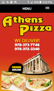 Athens Pizza Haverhill- screenshot thumbnail
