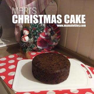 Mari's Christmas Cake