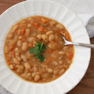 Slow Cooker Vegetable Bean Soup.
