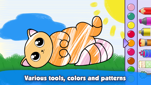 Kids Coloring Book: Drawing & Painting for toddler modavailable screenshots 7