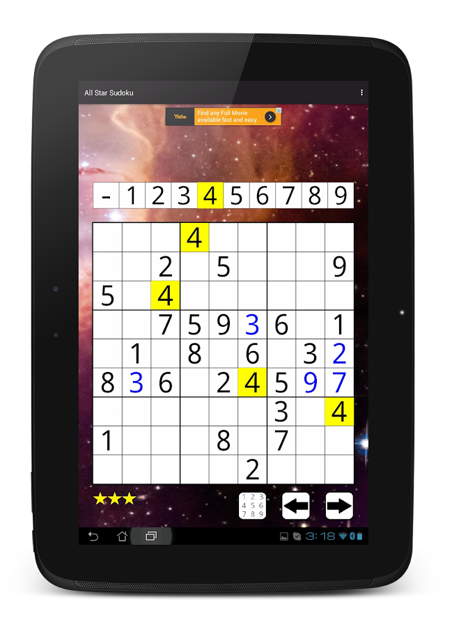 All Star Sudoku- screenshot