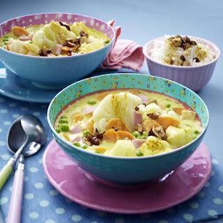 Ham and Cauliflower Curry.